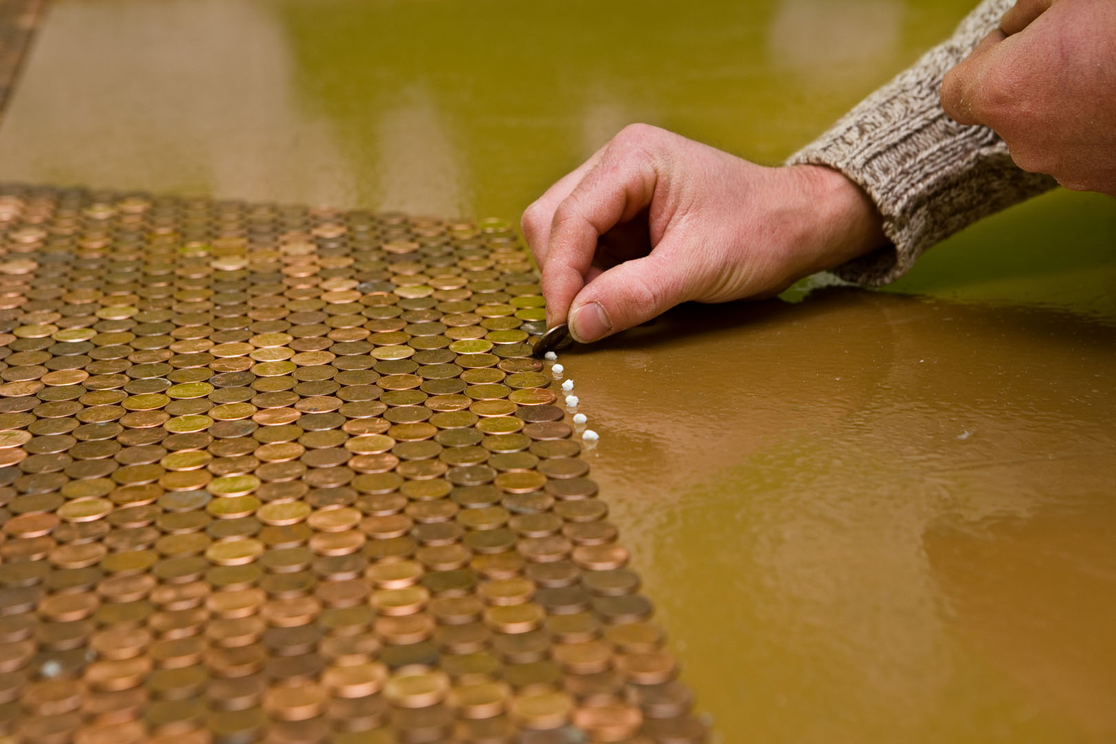 The Legacy Building Company 187 Priceless Penny Floor