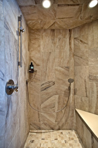 Legacy Building Company shower photo
